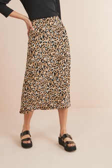 b86db0c630 Midi Skirts for Women | Plain & Animal Printed Midi Skirts | Next UK