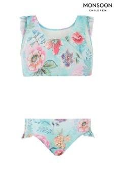 Monsoon Floral Print Bikini Set