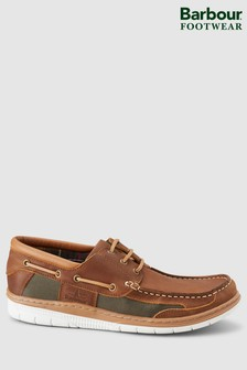 Barbour® Brown Fathom Boat Shoe