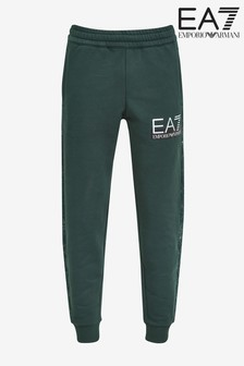EA7 Green Pattern Joggers