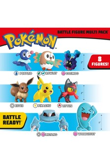 Pokémon™ Battle 8-Figure Multipack