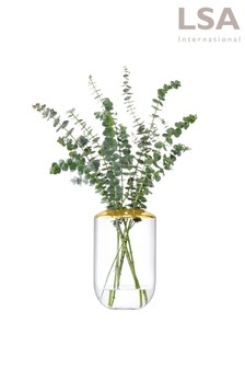 LSA International Space Gold 25cm Vase