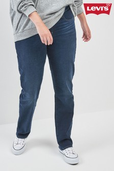 Levis Plus 314 Shaping Straight Dark Horse Jean