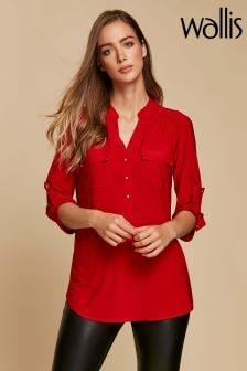 Wallis Red Ity Shirt