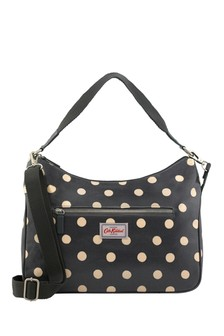 Cath Kidston® Button Spot Curve Shoulder Bag