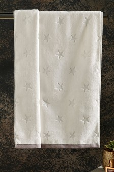 Silver Star Towel