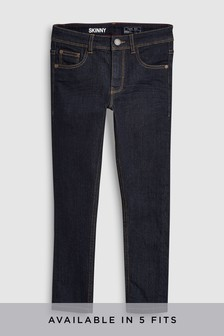 Longer Leg Skinny Fit Jeans (3-16yrs)
