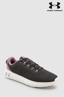 Under Armour Grey Ripple Trainer