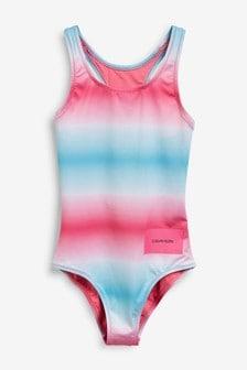 Calvin Klein Girls Gradient Swimsuit
