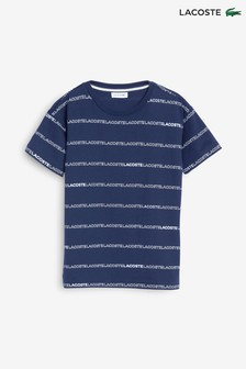 Lacoste® Repeat Text T-Shirt