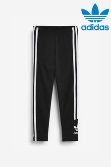 adidas Originals Little Kids Black Lock Up Leggings