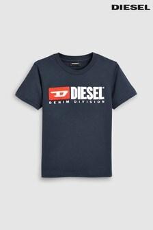 Diesel® T-Shirt mit Logo für Kinder