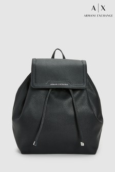 Armani Exchange Black Formal Backpack