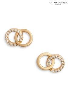 Olivia Burton Bejewelled Interlink Earrings