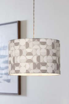 Geo Print Easy Fit Pendant Shade