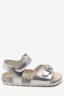 cfd7ef19643f Buckle Corkbed Sandals (Younger)