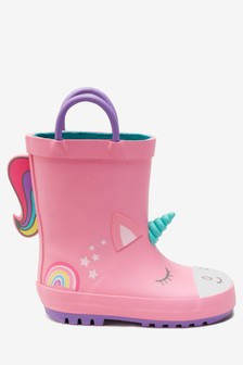Unicorn Wellies (Younger) 9dceabf43