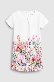 Floral Print Jersey Dress (3mths-7yrs)