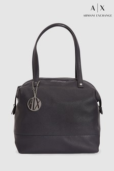 Armani Exchange Navy Shopper Bag