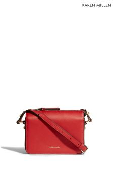 Karen Millen Red Crossbody Bag Collection