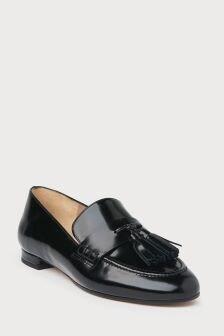 L.K.Bennett Black Rumi Flat Loafer