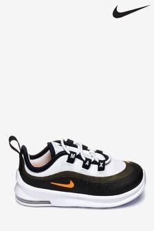 Nike White/Orange Air Max Axis Infant