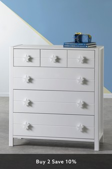 Skye 6 Drawer Multi Chest