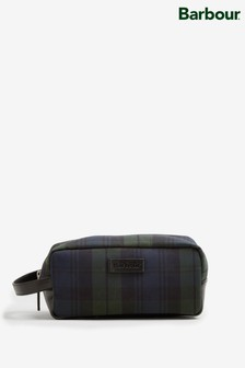 Barbour® Tartan Black Wax Wash Bag