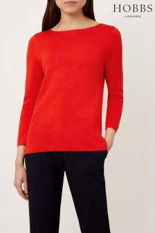 Hobbs Pomegranate Cesci Sweater