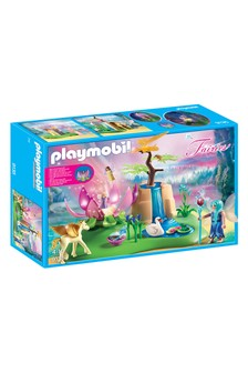 Playmobil® Fairies Mystical Fairy Glen With Glowing Flower Throne