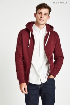 Jack Wills Damson Wembry Zip-Up Hoody