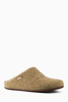 FitFlop™ Gold Wool Chrissie Slipper Mule