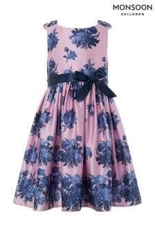 Monsoon Kleid mit Vintage-Rosenmotiv