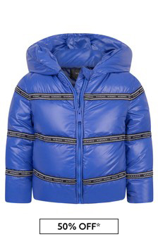 Baby Boys Blue Down Jacket