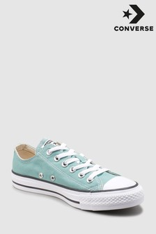 Converse Teal Chuck Low Trainer