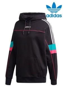 Толстовка свободного кроя с капюшоном adidas Originals Tech