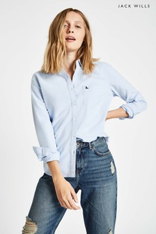 Jack Wills Pale Blue Homefore Classic Fit Shirt