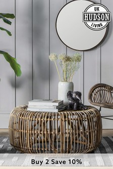Rattan Coffee Table By Hudson Living