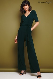 Phase Eight Evergreen Luna Tie Jumpsuit