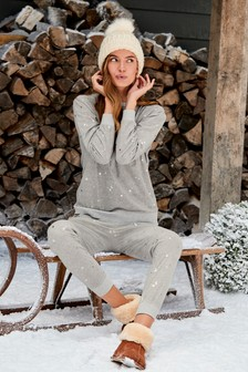 Foil Star Supersoft Cosy Pyjama Set