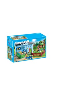 Playmobil® 9277 City Life Animal Boarding And Hamster Wheel
