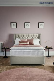 3200 Gel Mattress 2 Drawer Divan Set By Sleepeezee