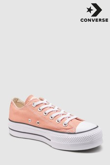 Converse Orange Chuck Lift Trainer