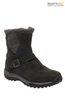 Regatta Black Argyle Boot