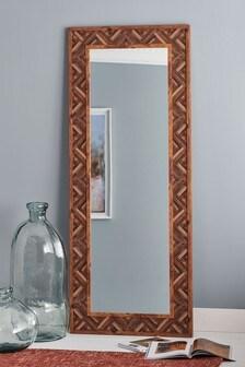 Chevron Floor Length Mirror