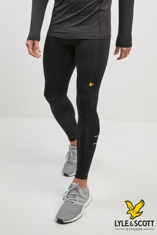 Lyle & Scott Sport Black Ultra Tech Run Tight