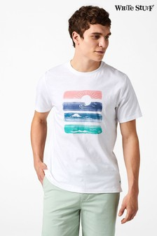 White Stuff White Sunset Graphic Tee