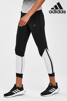 adidas Black Fade Own The Run Leggings