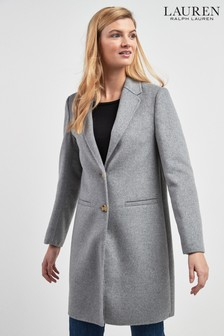 Lauren Ralph Lauren® Grey Wool Formal Coat