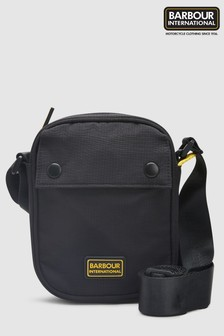 Barbour® International Black Ripstop Utility Bag